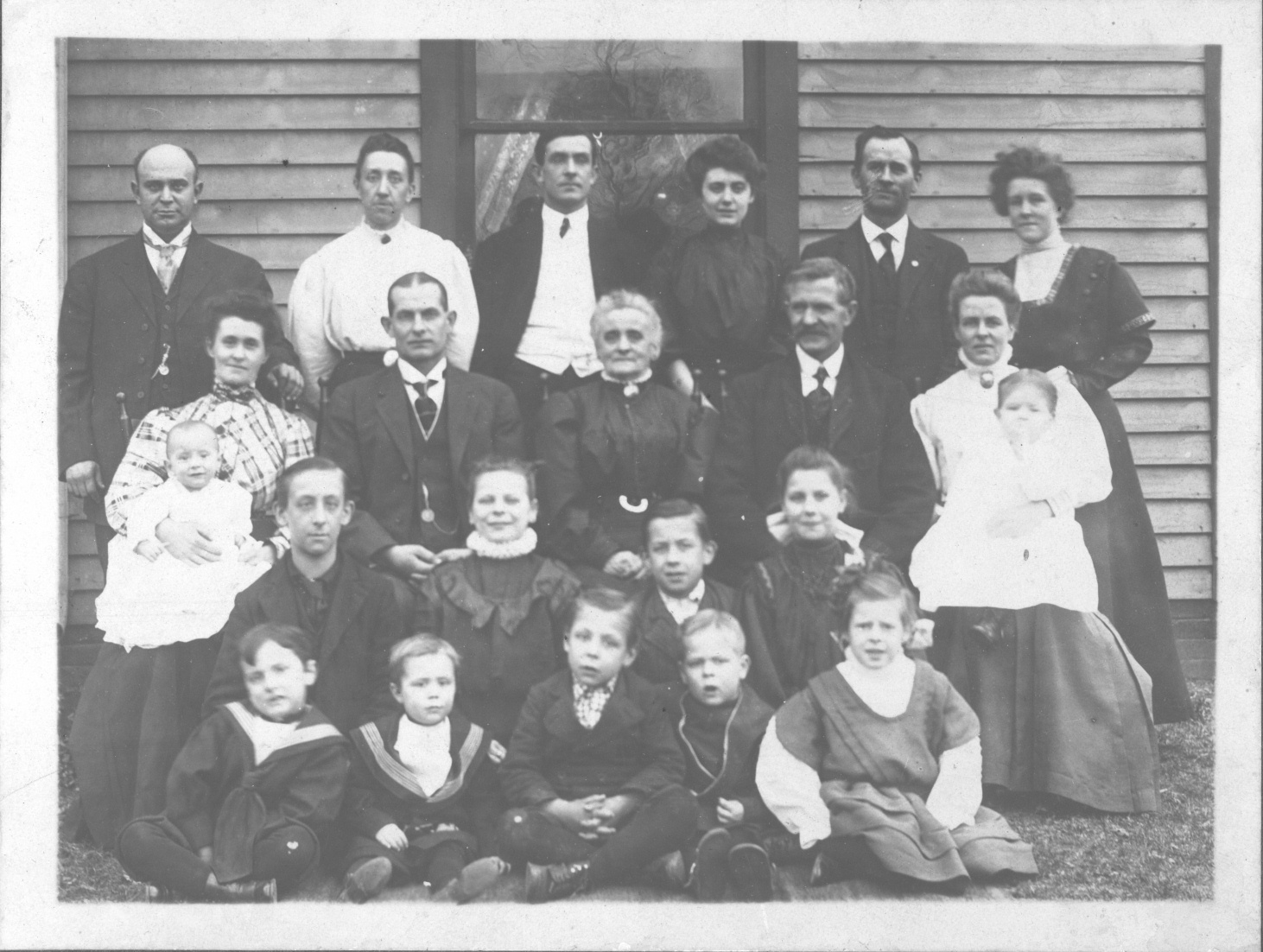 William and Sarah Rosemeyer Family